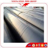 Tubo d'acciaio a spirale saldato utilizzato nei mucchi di Linepipe del gas di olio