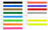 Puce programmable Passive colorés ID bracelet RFID jetables en papier