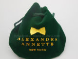 Sacchetto del regalo del Drawstring del velluto, sacchetto promozionale dell'imballaggio (GZHY-dB-004)