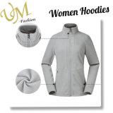 대 목 옥외 착용 양털 Hoodie 재킷