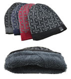 Мужской костюм для женщин и женщин глотать оградить печать трикотажные зимний теплый Beanies толстых Red Hat (HW418)