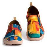 Custom Newest Style Popular Comfortable Printing Upper Accidental Shoes Canvas Shoe