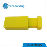 Изготовленный на заказ ручка флэш-память USB свободно образца логоса пластичная сползая