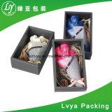 검정 크리스마스를 위한 향상된 선물 꽃 마분지 종이상자 또는 포장 선물 상자