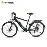 Bicicleta elétrica adulta cobrada rodada da chegada dois novos