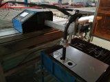 plasma do CNC da chapa de aço da trilha de alumínio e máquina de estaca portáteis da flama