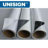 Colla bianca permanente su forte autoadesiva del vinile 80microns/120GSM del PVC di Unisign