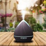 De nieuwe Luchtbevochtiger van Aromatherapy van het Toestel van het Huis Verspreider van het Aroma van de Korrel van 400 Ml de Houten Ultrasone
