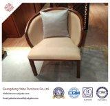 Meubles vendables d'hôtel avec le fauteuil rond de tissu (YB-O-17)