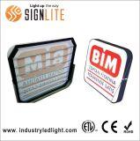 4FT 24W T8 ETL 두 배 측 LED 표시 관