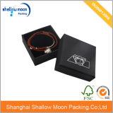 Коробка черных бумажных ювелирных изделий бумажная с подкладкой (QY150023)