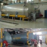 1-20tonne/hr Wet Retour automatique de l'huile industrielle fabricant de chaudières à gaz