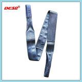 imbracatura piana della tessitura della cinghia di sicurezza del poliestere 10t