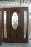 De volledige Decoratieve Voordeur van de Glasvezel van de Premie van de Ambacht van de Hand van het Eind van het Glas Lite Hoge Franse