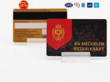 De PVC de alta qualidade com cartões de tarja magnética hot stamping