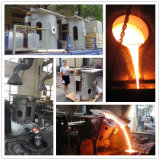 Forno de indução de freqüência do SCR para ferro/aço/forno de indução de fundição de cobre