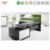 Дешевый коммерчески стол экзекьютива офисной мебели доски MFC мебели Melamined