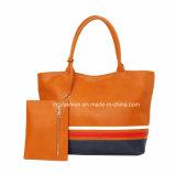 Colore-Ostruire la signora Fashion Shopping Tote Handbag con il sacchetto della moneta