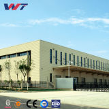 Umweltfreundliches helles Stahlkonstruktion-Fertiglager mit Büro-Raum