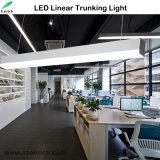 Luz linear Recessed do diodo emissor de luz do sarrafo do louro do sistema do Trunking pendente elevado