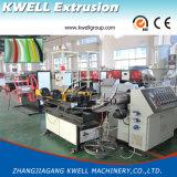 Tubulação ondulada do PVC que faz a máquina/única parede máquina ondulada da extrusão da tubulação