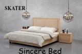 Удобные кровати с одной спальней и Американском стиле ткань