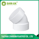 Curvatura del PVC Dwv di ASTM D2665 per lo spreco di Wather