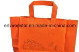 Гуанчжоу продуктовый супермаркет Настройка печати ручку защиты окружающей среды зеленый нетканого материала выполните сумки