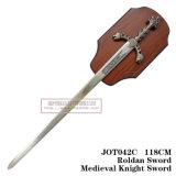 A decoração medieval Swords118cm Jot042c das espadas da espada do leão
