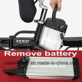 2018 Ligas de alumínio e dobra-Bike com 48V Bateria de lítio