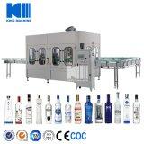 350ml 750ml 1000ml Glasflaschen-füllende abfüllende mit einer Kappe bedeckende Dichtungs-Maschine für Spiritus-Getränk-Whisky-Wodka-Rotwein