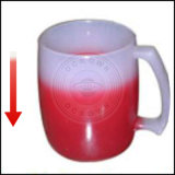 Heating Pigment著変更するOcrownのThermochromic粉の可逆熱カラー