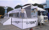 Het hete Beweegbare Stadium die van de Verkoop Vrachtwagen met het LEIDENE van de Bevordering Scherm uitvoeren