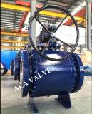 Diseño montado muñón de acero forjado de la vávula de bola del Tk