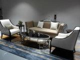 Mobília do hotel da madeira contínua com o sofá feito sob encomenda da entrada ajustado (HL-X-4)