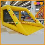 아이 (AQ1828-1)를 위한 노란 팽창식 축구 걷어차기 게임 Inflatables 축구 경기