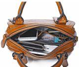 Heiße Weinlese-Handtaschen-echter Kuh-Leder-Kurier-Beutel des Verkaufs-2018 für Frauen