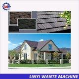 고전적인 지붕널 패턴 돌 입히는 금속 기와