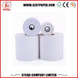 Roulis de papier thermosensible de réception de la caisse comptable POS/ATM