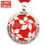 Médaille de service faite sur commande personnalisée de souvenir de récompense de sport en métal d'honneur