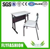 Barato preço Mobiliário escolar de estudantes de design único mesa e cadeira (SF-80S)