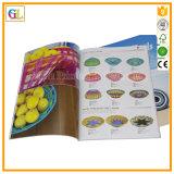 Impresión de encargo del catálogo con la cubierta suave