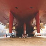 Окраска судна яхт в камере для покраски воды на основе краски для покраски