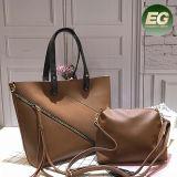 지갑 Sh372를 가진 최신 판매 여자 형식 핸드백 숙녀 물색 핸드백