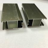 Quadrat, rundes, unterschiedliches Aluminiumlegierung-Strangpresßling-Profil für Tür und Fenster-Gefäß 63