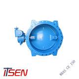 Todos os tipo Válvula Borboleta extremidade flangeada Fabricação na China