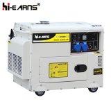 Luftgekühlter einzelner Zylinder-Dieselgenerator-Set-einphasiges (DG4500SE)