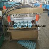 Китай двойной слой панели крыши формирования рулона бумагоделательной машины продажи с возможностью горячей замены