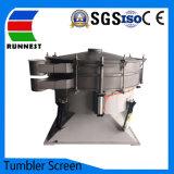 Высокая производительность SUS304 или 316L тумблерный вращающегося сита вибрирует вибро экрана