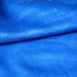 Con la tela de gamuza de poliéster resistente al agua para sofá